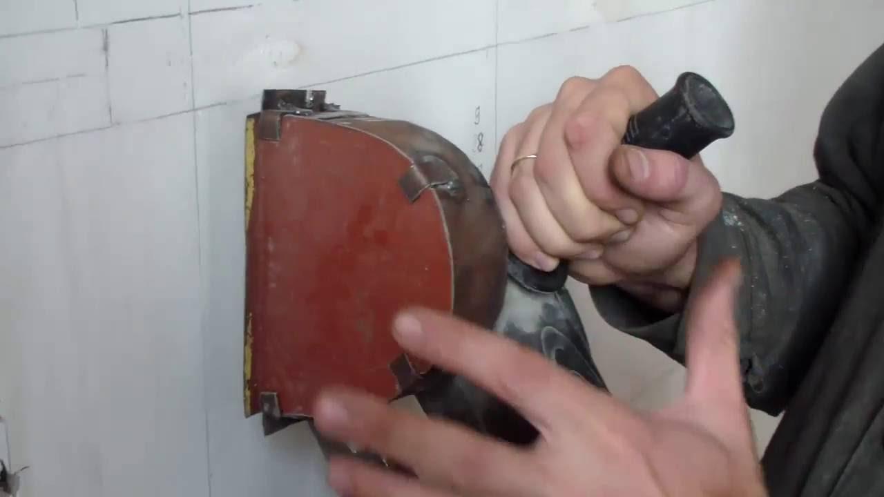 как сделать из болгарки штроборез своими руками