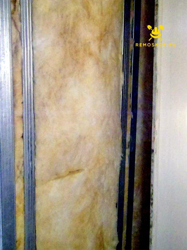 Лоджии на пароизоляция стен