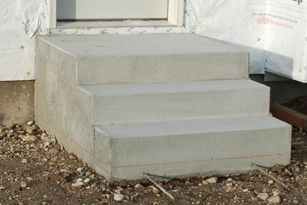Как сделать бетонного крыльца 111