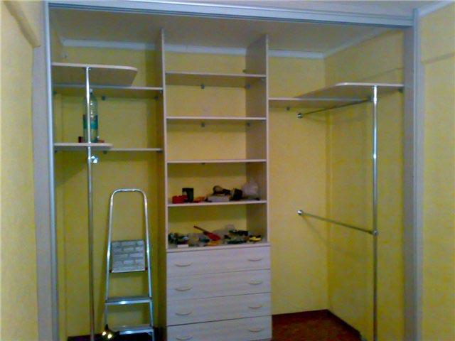 Дизайн гардеробной комнаты своими руками фото