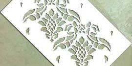 Трафареты для декоративной штукатурки и способы их нанесения
