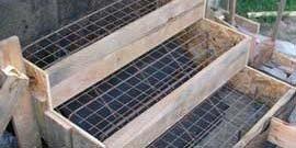 Создаем бетонное крыльцо своими руками – красиво и практично