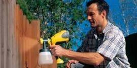 Краскопульт для водоэмульсионной краски – типы и их особенности