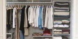 Как сделать гардеробную из кладовки в хрущевке без лишних затрат?