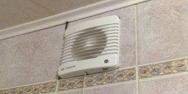 Вентиляция в ванной комнате и туалете – обязательный элемент комфорта