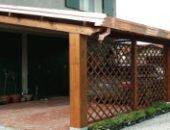 Навесы из дерева как простые конструкции из доступного материала