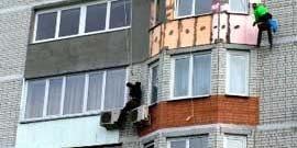 Утепление балкона пенопластом – привнесите в свой дом тепло и комфорт