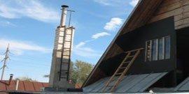 Утепление дымохода – эпилог в строительстве вашего дома