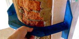 Как закруглить угол стены (кирпич)