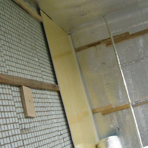 Обрешетка для панелей пвх в ванной
