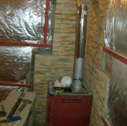 Утепление стен в бане изнутри своими руками фото 557