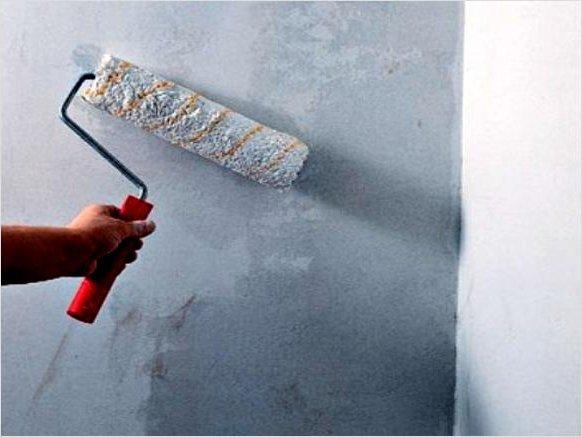 ПеринГрунтовка для стен под обои своими руками