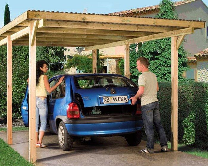 Как сделать гараж для автомобиля своими руками