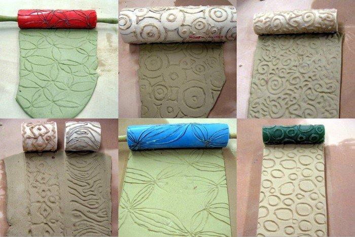 Как сделать текстурный валик