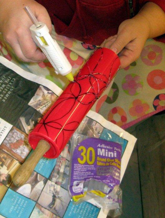 Сделать валик для декоративной штукатурки своими руками