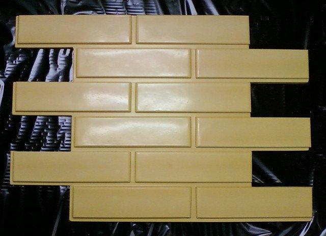 Форма для плитки под кирпич