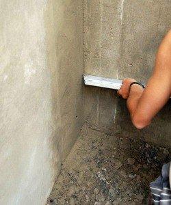 Фото оштукатуривания внутреннего угла, postroy-sam.com