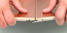 Отделка стен ламинатом – неожиданное решение в интерьере вашего дома