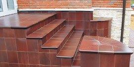 Плитка для крыльца на улице – все секреты укладки