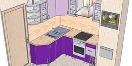Фото - Планировка кухни 9 метров квадратных – как ее сделать эффективнее?