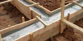 Когда снимать опалубку с фундамента или сколько времени застывает бетон?