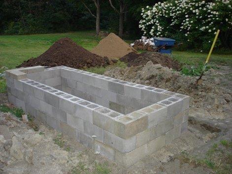 Строительство дома своими руками из шлакоблока видео