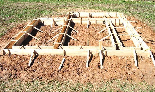 Видео строительство опалубки для фундамента своими руками