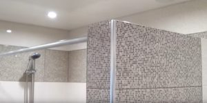 Ванная комната с перегородкой