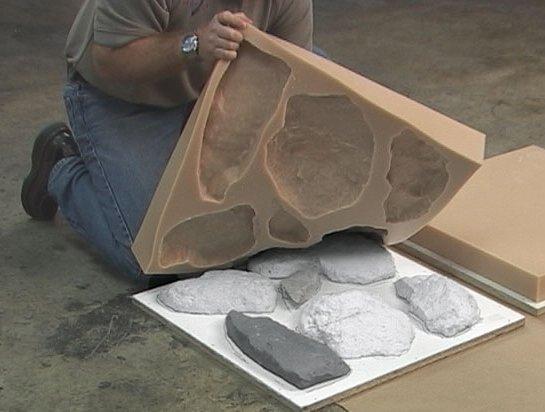 Декоративные плитка своими руками