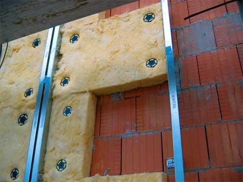 Утепление фасадов минеральной ватой своими руками