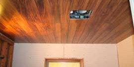 Фото - Укладка ламината на потолок, монтаж каркаса