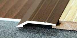Пороги для ламината – точное сочетание напольных покрытий