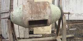 Ручная бетономешалка – механизация тяжелого труда