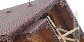 Ветровая доска – особенности крепления на разные крыши