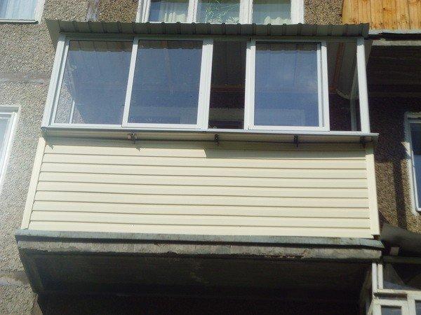 Отделать балкон сайдингом своими руками фото 617