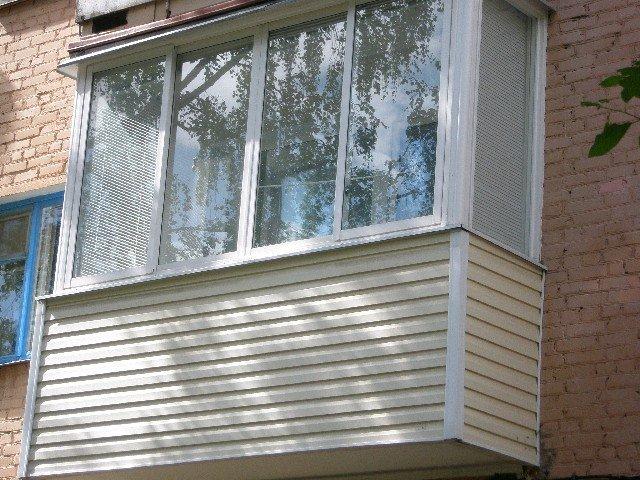 Как обшить балкон сайдингом своими руками - внутренняя и ....