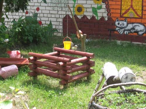 Идеи детских площадок в доу своими руками