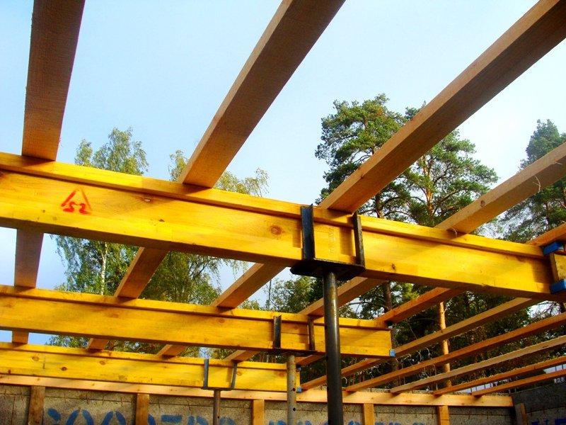 Деревянное перекрытие между этажами своими руками фото 836