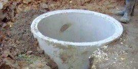 Пластиковые и бетонные кольца для канализации – какой колодец лучше?