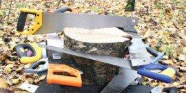 Ножовка по дереву – обязательный атрибут каждой мастерской!