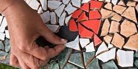 Мозаика из битой плитки – своими руками уникальная облицовка