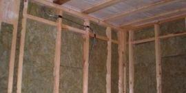Как своими руками проделать утепление стен каркасного дома изнутри?
