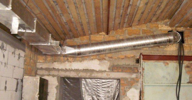 Вентиляция в гараже своими руками схема