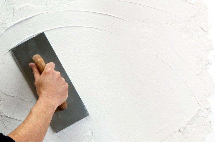 Декоративная штукатурка своими руками из шпатлевки