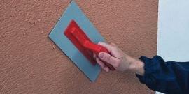 Декоративная штукатурка для наружных работ – характеристики и порядок фасадного ремонта