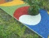 Фото - Цветной щебень своими руками – делаем каменную радугу!
