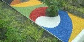 Цветной щебень своими руками – делаем каменную радугу!