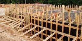 Доска для опалубки – основа монолитного строительства