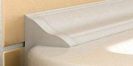Керамический плинтус для ванны – завершающие штрихи мастерского ремонта