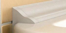 Фото - Керамический плинтус для ванны – завершающие штрихи мастерского ремонта